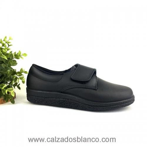 Javer 5 Negro Velcro (402-0004)
