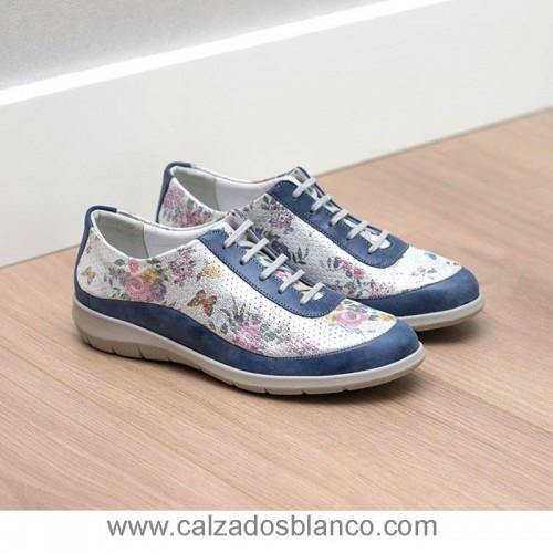 Suave 3605 CS Azul-Flores